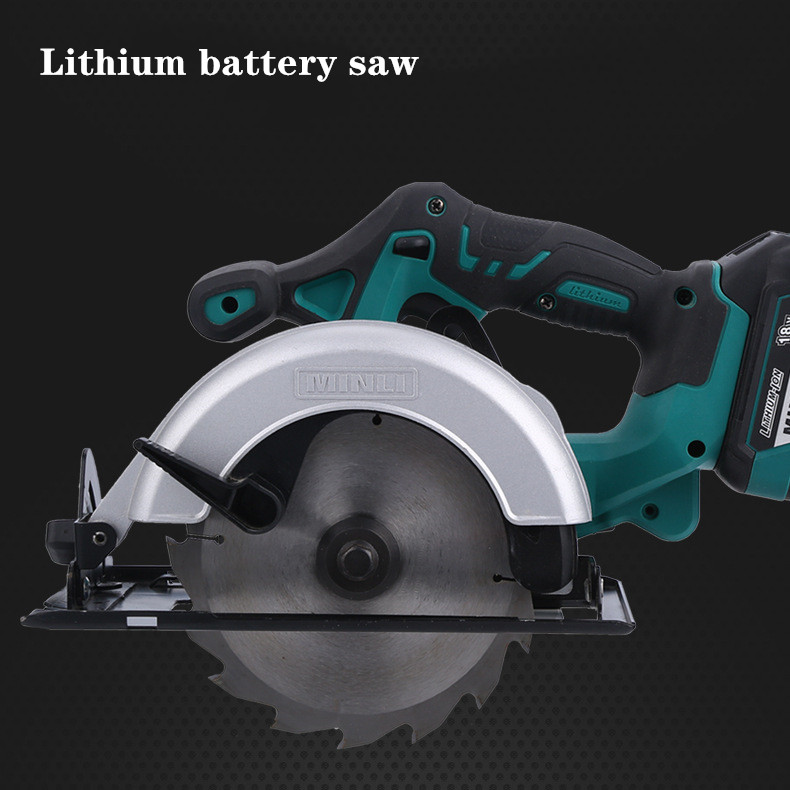 6 inch Lithium electric circular saw portable woodworker household multi functional disc cutter charging electric saw|Electric Saws| |  - title=