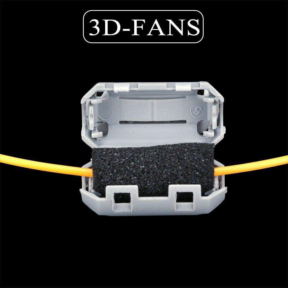 Abs pla petg 1,75 мм филаментные фильтры, чистящие блоки для удаления пыли, полезные для a6 a8 cr-10 ender 3 PRUSA I3 насадки hotend 3d запчасти