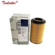 오일 필터 A6511800109 1 Pcs 메르세데스 벤츠 VIANO (W639) 2010 2019 VITO MIXTO Box VITO 버스 모델 High Quailty Oil Filter