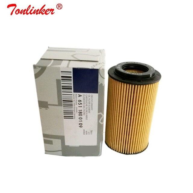 Oil Filter A6511800109 1 Pcs For Mercedes Benz VIANO (W639) 2010 2019 VITO MIXTO Box VITO Bus Model High Quailty  Oil Filter
