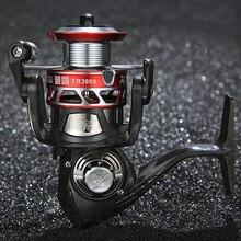 Рыболовная катушка 14bb 4:5:1 2000-5000, японский подшипник, переднее колесо, полностью металлическое спиннинговое колесо, морская выдра, бросок, carretilha baitcasing