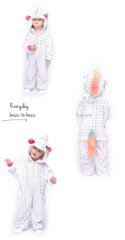 Pijama infantil de panda e tigre, macacão