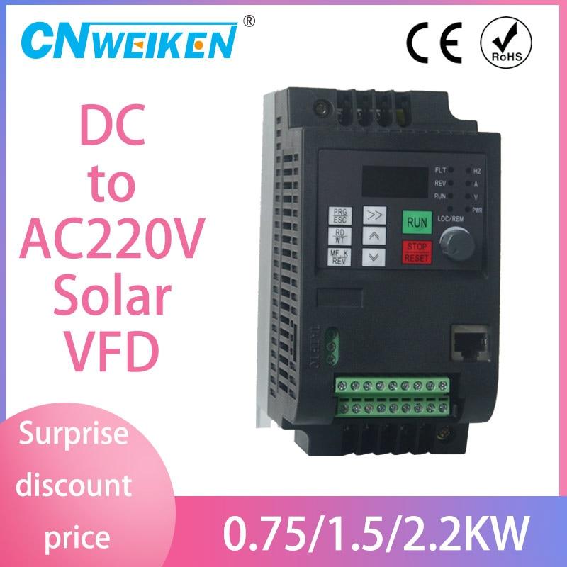 conversor de frequencia de controle de vetor wk310 inversor de bomba solar de 200v 400v para