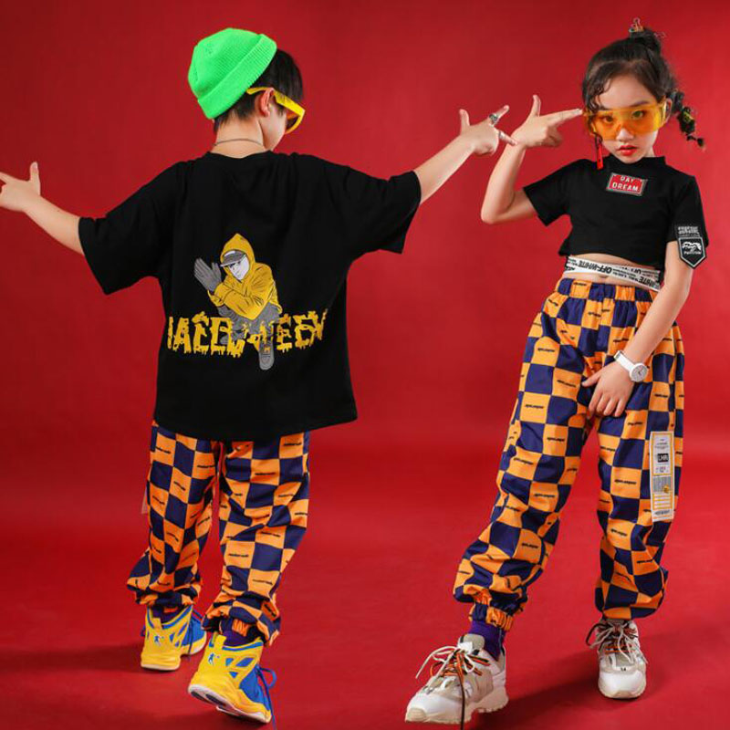 Kids Jogger Pants Sliver Jacket Coat Hip Hop Clothing Outfits Jazz Dance Costume For Girls Boys Ballroom Dancing Street Wear