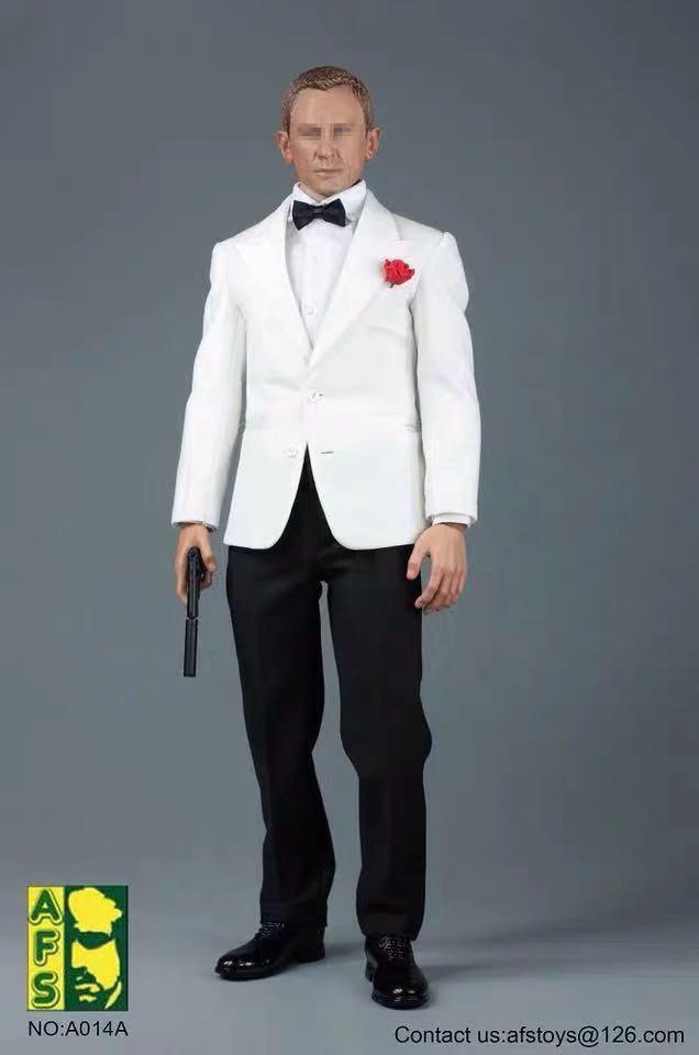 Mnotht 1/6 james bond 007 homem terno conjunto de roupas agentes reais com calças jaqueta camisa cinto sapatos a014 para 12in figura ação brinquedo