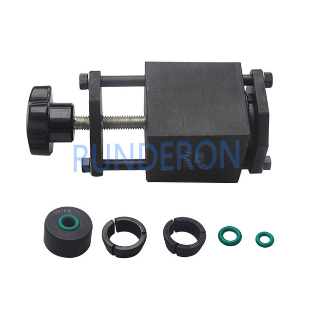 Diesel Service Workshop Common Rail Injectors Fuel Collector Kit for Bosch System