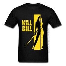 Matar bill pulp fiction django quentin tarantino tshirt dos homens moda nova marca topos & t roupas casuais de alta qualidade camisetas filme