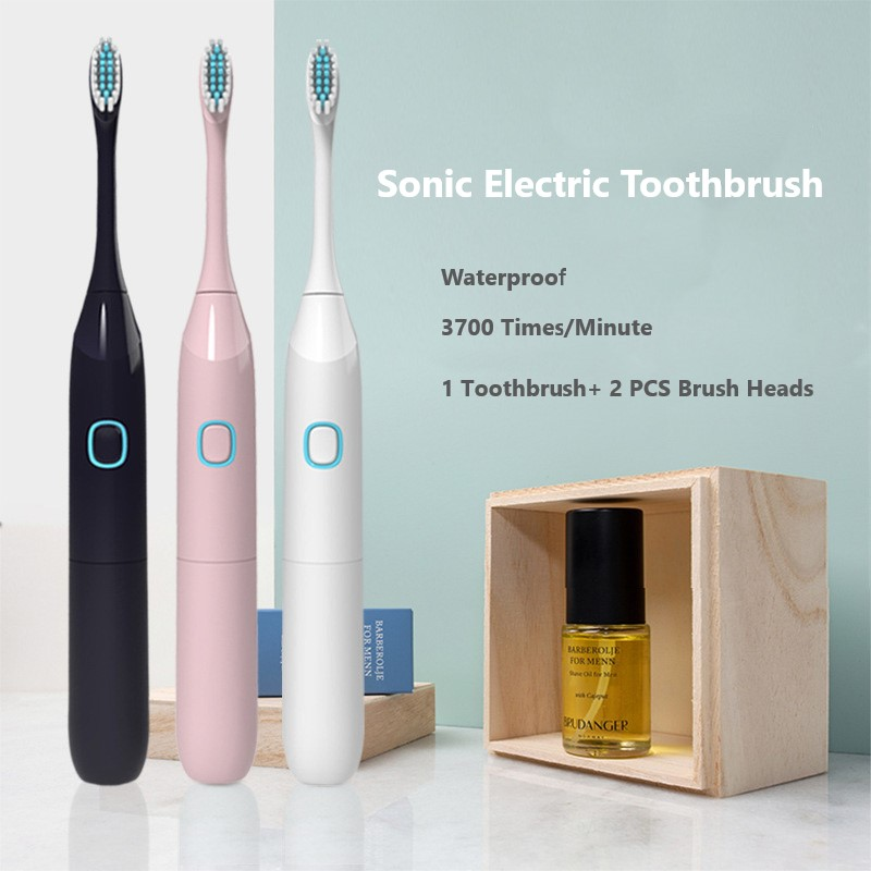 YBLNTEK Toothbrush Sonic Electric Toothbrush Waterproof Battery Tooth Brush Electric Strong Power Acoustic Wave Toothbrush image