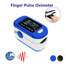 Fingertip Oximeter Portable Finger Pulse Oximeter Spo2 PR PI Blood Oxygen Saturation Heart Rate Home Healthy Care Monitor Tool