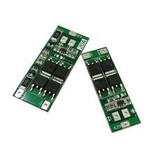 2S 20A 7.4V 8.4V 18650 Lityum pil koruma levhası/BMS kurulu standart/denge