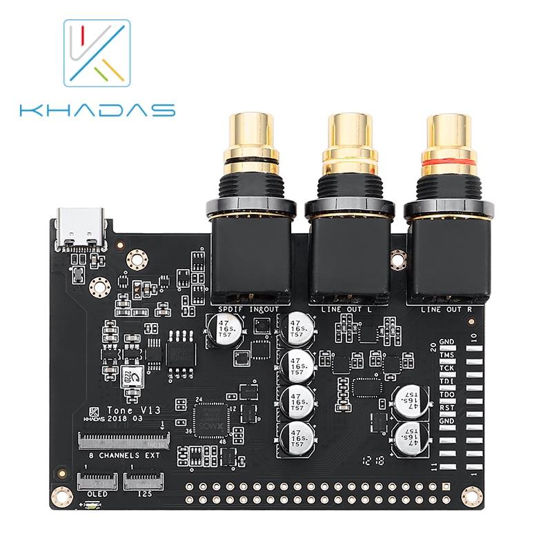 Hifi Borad With 32-Bit Stereo Mobile Audio DAC ES9038Q2M Khadas Tone Board Of Generic Edition