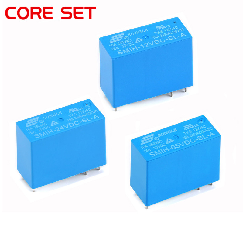 Hongfa Relays 10A 4-Pin HF32F-JZC-32F HS 5V 12VDC Power Relay 005 012