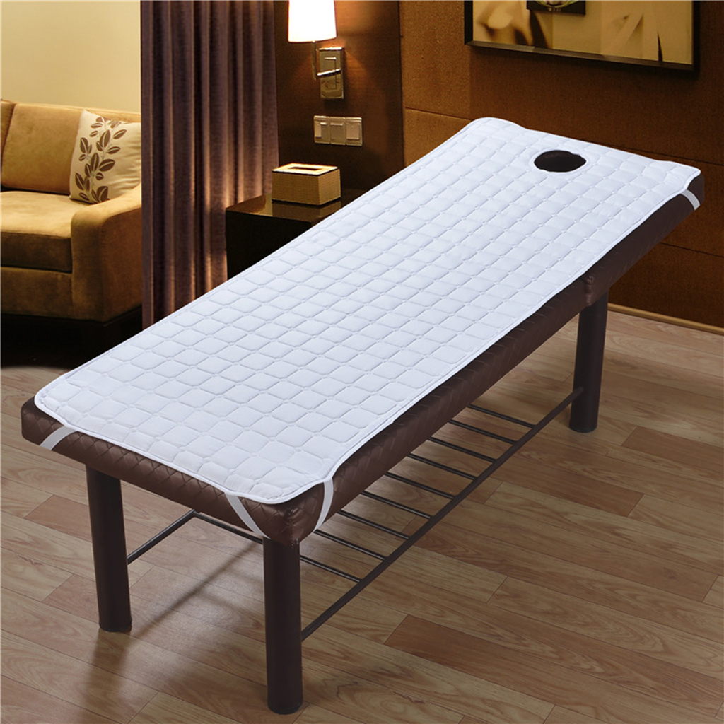 MagiDeal 2x Massage Table Sheet Stay Band Hole Beauty Salon Couch 190x80cm