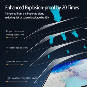 Image 5 - Baseus 2Pcs 0.25mm UV Screen Protector For Samsung Galaxy S20 Plus Ultra Full Cover Protective Tempered Glass For Samsung S 20
