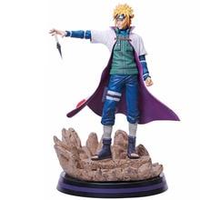 Anime Naruto Shippuden Namikaze Minato Statue PVC Action Figure Collection Model Kids Toys Doll Gift 28cm стоимость