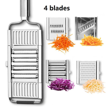 Multi-purpose Vegetable Slicer Stainless Steel Grater Cutter Shredders Fruit and Vegetables Kitchen Accessories