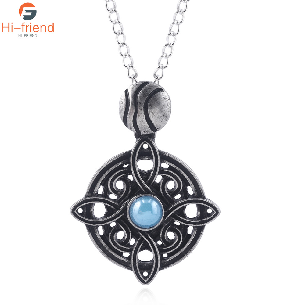 Game The Elder Scrolls Amulet of Mara Necklace the elder scrolls v game Pendants Dinosaur Triangle Cosplay Men Jewelry|Pendant Necklaces|   - AliExpress