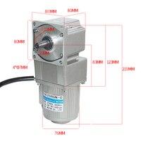 AC40 4GNRA High Torque AC Gear Motor With 4GNRA Gearbox AC Gear Motor 220V 40W 7.5/15/23/34/54/75/108/150/180/270/450Rpm