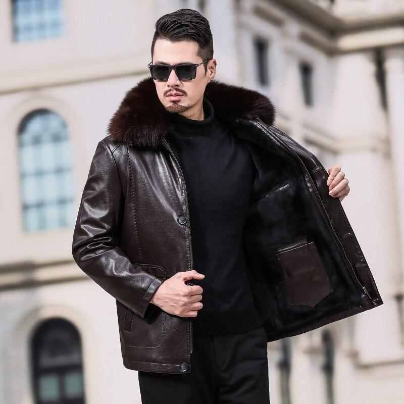 Мужская джинсовая куртка, брендовая дизайнерская Весенняя Мужская джинсовая куртка и пальто, плюс размер 4XL, костюм, пальто для мужчин, Воен... - 3