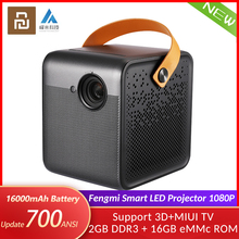 Home Theater Battery-Support TV Smart-Projector Fengmi 1080P 3D HD 700ANSI DMD Lumens