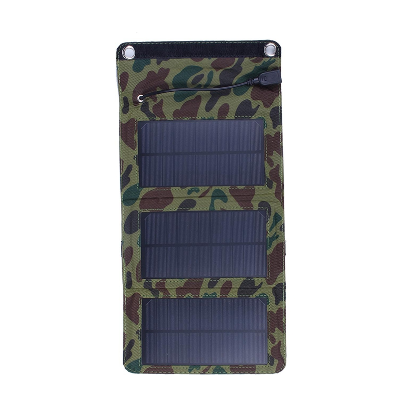 5W Fodable Solar Charger Solar Panel Charger For Mobile Phone 5W Solar Panel Charger For Power Bank in Chargers from Consumer Electronics