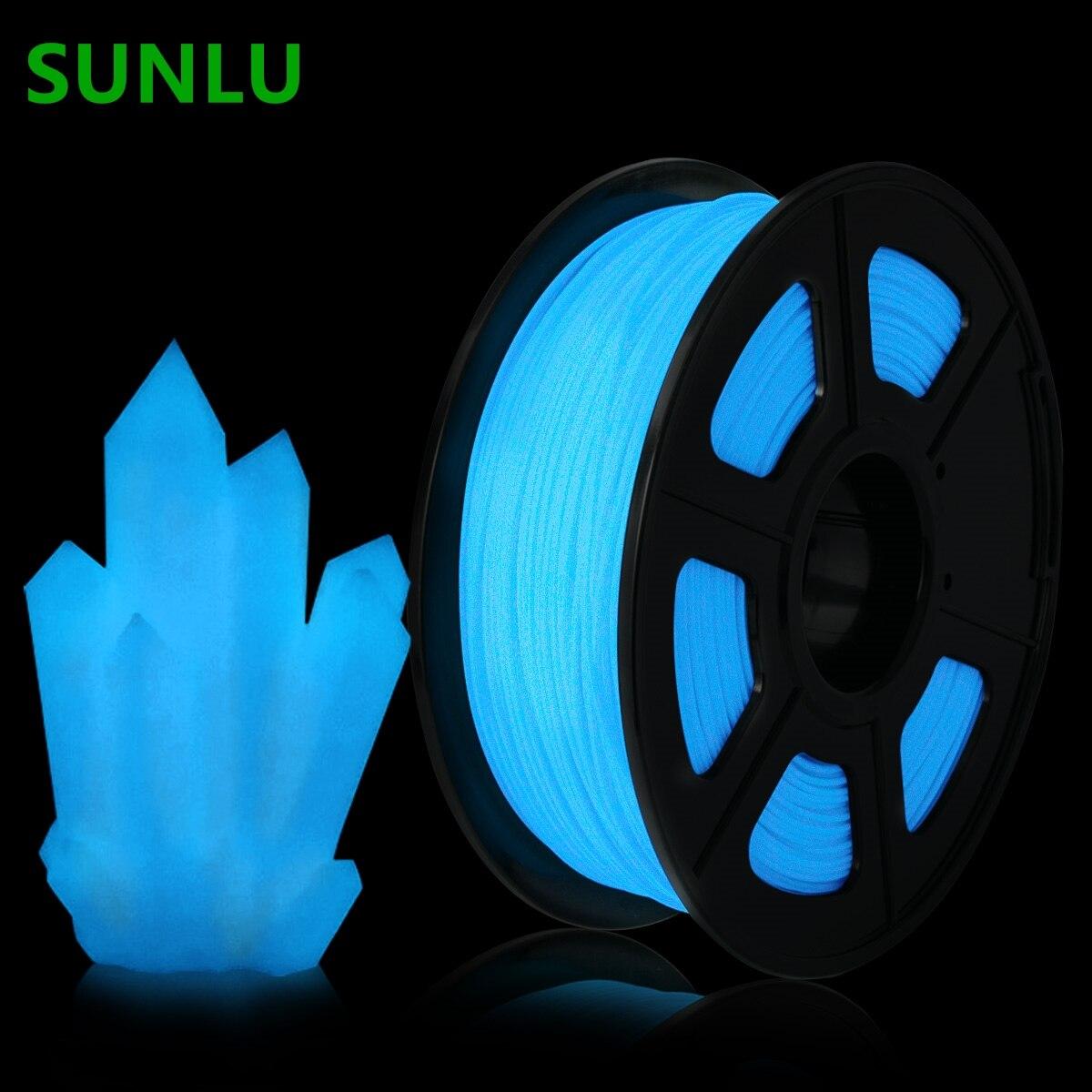 SUNLU PLA нити светятся в темноте 1 кг/катушка 1,75 мм нити печати Материал принадлежности для 3D принтеры, ручки для рисования, расходные материалы|Материалы для 3D-печати|   | АлиЭкспресс