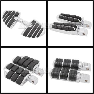 Front & Rear Motorcycle Foot Pegs Footrest Footpeg For Honda VTX 1300 1800 VTX1800 C/F VTX1300C Floorboards Footboards