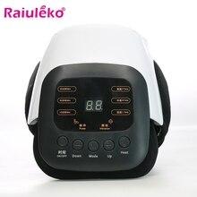 Ginocchio Massager Elettrico A Infrarossi Riscaldata Vibrazione Comune di Massaggio Fisioterapia Sollievo Artrosi Artrite Reumatica Cura