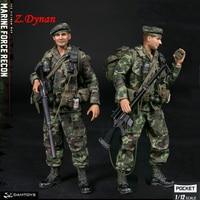 Limited Version DAM PES009 WF 2019 Exclusive POCKET ELITE Vietnam War US Marine Force Recon 1/12 Male Soldier Action Figure