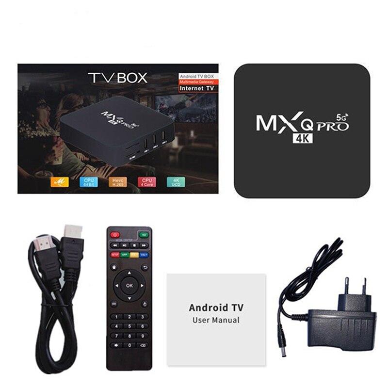 2020 смарт блок для ТВ MXQ PRO 5G WiFi смарт ТВ 1 ГБ 8 ГБ Android TV Box Media Player глобальной|ТВ-приставки и медиаплееры| | АлиЭкспресс