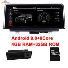 цена на 4GB RAM+32GB ROM 8 core Android 9.0 Car DVD Player for BMW X5 E70 X6 E71 GPS Navigation CIC CCC iDrive Steering wheel Control