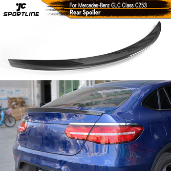 Carbon Fiber / FRP Rear Spoiler Window Wing For Mercedes Benz GLC SUV GLC250 GLC300 GLC43 AMG 4 Door 2016 2017 image