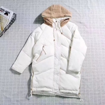 White duck down coat Women Winter Parka Femme Windpro Coat With and Hood That Will Protect From The Cold Women's Jacket