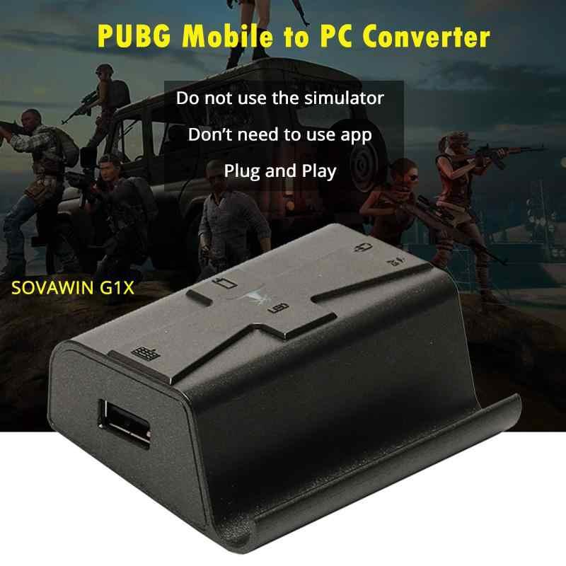 G1X الهاتف غمبد الروبوت Pubg تحكم الألعاب لوحة المفاتيح ماوس ل PC محول محول ل فون شحن مجاني