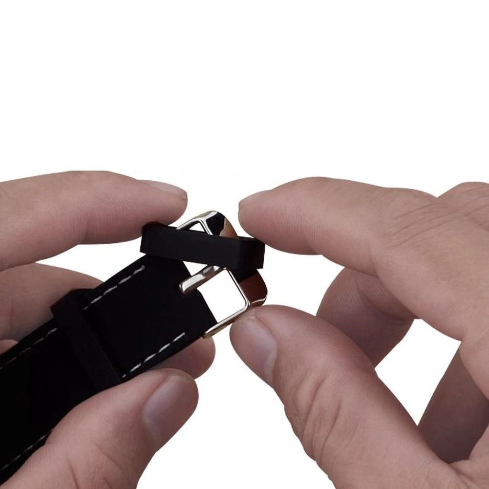 Купить резиновый сменный ремешок для часов держатель петля безопасности