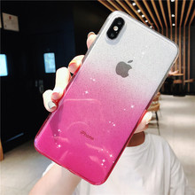Luxury Glitter Phone Cover Case For Apple iPhone X XR XS 11 Pro Max 8 7 6S 6 Plus Case Luxury Cute Soft Silicon Back Cases luxury glitter phone cover for apple iphone x xr xs 11 pro max 8 7 6s 6 plus case cartoon soft silicon tpu i6 i7 i8 back cases