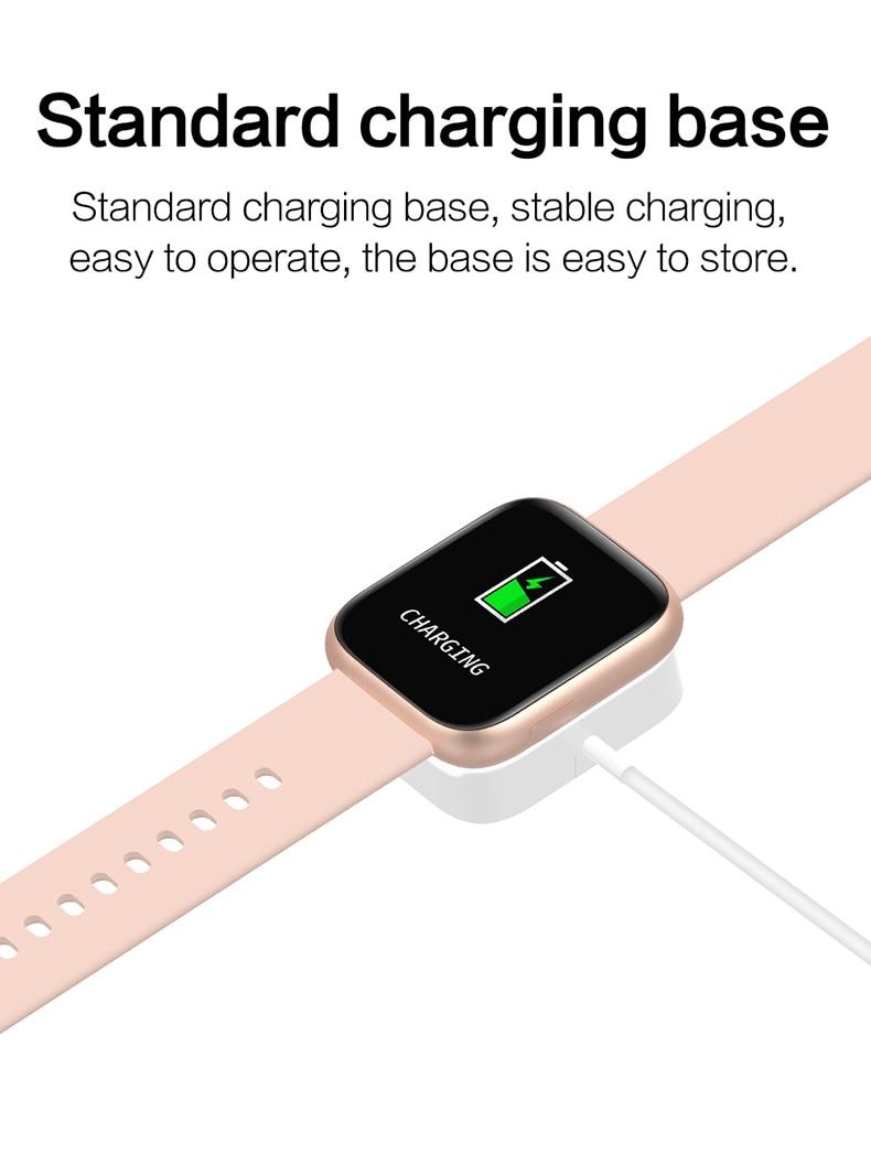 Smart watch sports TKYUAN P4, water resistant, control, sleep, heart rate