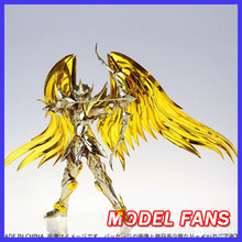 MODEL FANS IN STOCK GT great toys sog EX Sagittarius Aiolos Soul of Gold Saint Seiya Metal Armor Myth Cloth Gold Action Figure