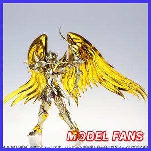 Image 1 - Modelo fãs em estoque gt grandes brinquedos sog ex sagitário aiolos alma de ouro saint seiya metal armadura mito pano ouro figura de ação