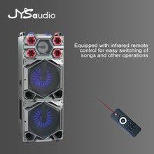 15 pouces haut-parleur Portable extérieur Subwoofer professionnel 450 Watts P.M.P.O. Haut-parleur haute puissance rechargeable Bluetooth haut-parleur