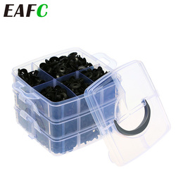 620pcs Car Retainer Clips Plastic Fasteners Kit Fender Rivet Clips Auto Bumper Rivet Retainer Push Engine Cover Clips