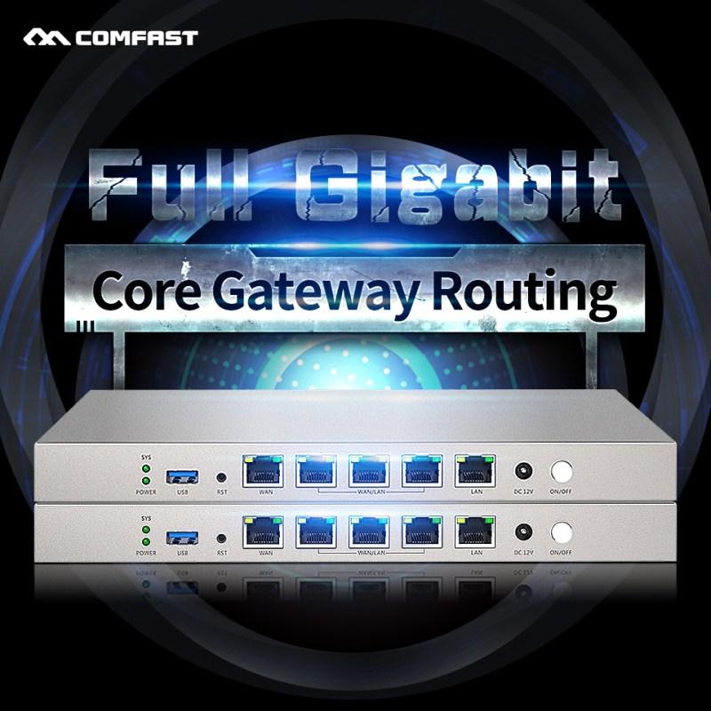 COMFAST CF-AC50 880MHz dual core AC controller full gigabit gateway routing Seamless Roaming/ Multi WAN/Load Balance ac router 1