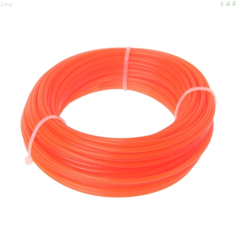 2/2.4/3mm X 15M Nylon Trimmer Line Brush Cutter Strimmer Rope Lawn Mower Wire