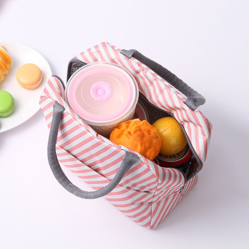 Image 4 - New Japanese Fresh Student with Meal Insert Bag Section  Insulation Lunch Bag Japanese style Portable Insulation Lunch BagBags
