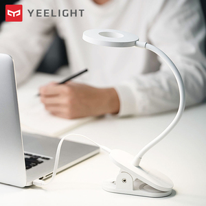 Image 5 - Yeelightโคมไฟตั้งโต๊ะLED Clip On Night Light USBชาร์จไฟ 5W 360 องศาปรับDimmingอ่านโคมไฟสำหรับห้องนอน