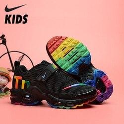 Nike Air Max Tn chaussures enfant Original Parent-enfant hommes chaussures de course en plein Air sport baskets # CT0962