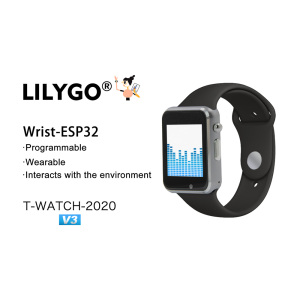 LILYGO T-WATCH-2020 V3 микрофон IPS сенсорный ESP32 WIFI Bluetooth вибромотор динамик три оси Акселерометр шагомер