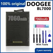 100% オリジナル7060mah bl 7000電話のバッテリーdoogee BL7000高品質電池ツール + 追跡番号