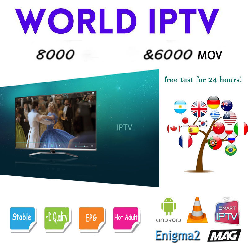 Acebird Iptv Subscription Netherlands Germany UK Switzerland Israel Russian Australia Poland 8000Live 6000MOD EPG Adult