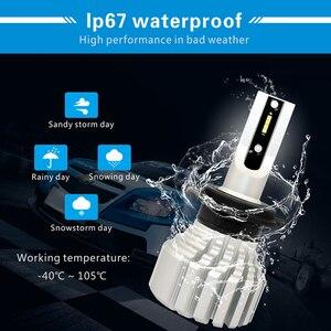 Image 3 - CNSUNNYLIGHT przeciwmgielne z przodu samochodu żarówka LED światła biały H11 H8 9006 H1 H3 880 PSX24W PSX26W P13W H7 9005 5000Lm DC 12V Auto DRL Foglamp